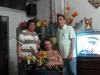 les fleurs, les parents