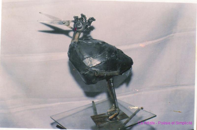 oiseau ciseaux