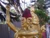 un bouddha de près