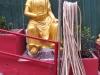bouddha au tuyau d'arrosage